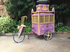 Pedaled cart...