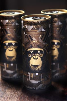 Luckily Infinite Monkey Theorem makes good wine in beautiful packages. Colorado Wine. #packaging #design