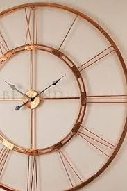 Image result for copper wall clock