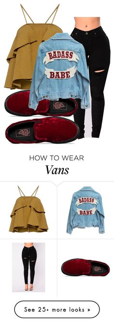 """You already kno"" by vjur-tw on Polyvore featuring Rachel Comey and Vans"