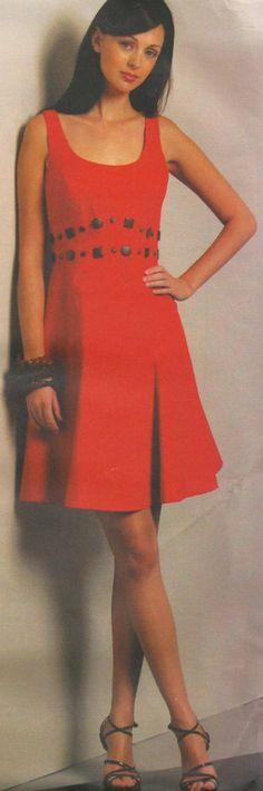 Vogue Dress Pattern 1089