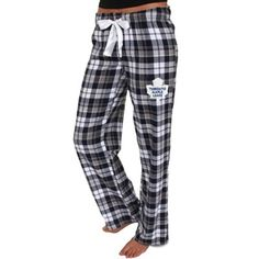 Women's Toronto Maple Leafs Navy Blue Reign Plaid Pants - Every lounger need a pair. Pj Pants, Plaid Pants, Nhl Shop, Kings Hockey, Los Angeles Kings, Toronto Maple Leafs, Everyday Fashion, Navy Blue, Reign