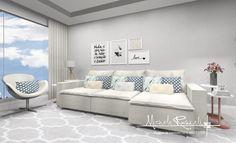 Coisa boa se jogar em um sofá bem confortável! E as almofadas além de decorar também contribuem para um conforto extra 🤩 Maravilha poder…