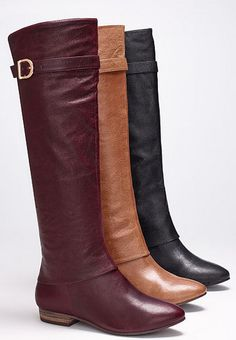 Classic riding boots - I'll take a pair in each color, please!