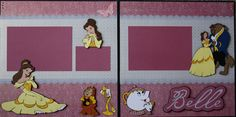 Disney Princess Scrapbook Layouts | By: Surescrapsalot | 24-Mar-12