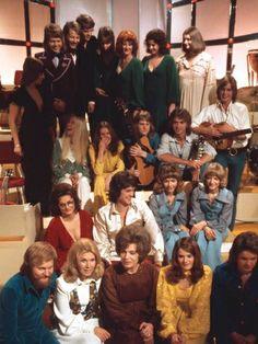 Contestants in Melodifestivalen in 1973, including ABBA