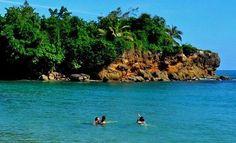 A beautiful beach in Jacmel, South of Haiti.