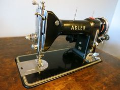▶ Adler 187 Sewing Machine Review and Sewing Demonstration - YouTube