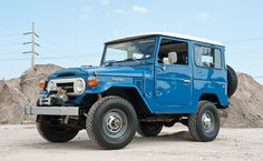 1976 Toyota FJ40 Land Cruiser Maintenance/restoration of old/vintage vehicles: the material for new cogs/casters/gears/pads could be cast polyamide which I (Cast polyamide) can produce. My contact: tatjana.alic@windowslive.com