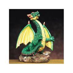 Small Dragon (Green)   Collectible Statue Figurine Figure
