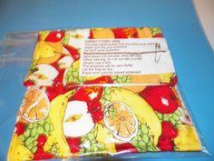 FRUIT  microwave baked potato bags   kitchen   by Georgia1Stringer, $7.00