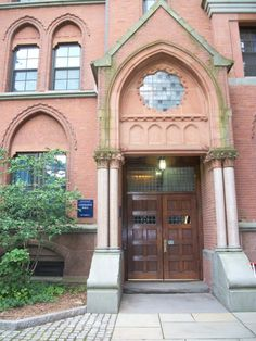 A door at the Yale Campus taken by Lori Lange