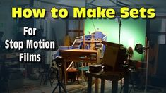 How to Build Sets for Stop Motion Animation Stop Frame Animation, Clay Animation, Animation Stop Motion, Animation Tutorial, Animation Reference, Stop Motion Photography, Motion Video, Film Studio, Cinematography