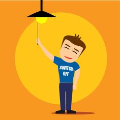 """WestWind Energy Saving Tip: Turn things off when you're done. Did you know that a computer left running 24/7 can burn through $150 worth of electricity over 5 years? Make """"switching it off when done"""" a household habit for your WestWind home."""