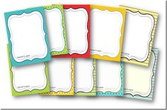 Binder covers {free and editable!!!} from the adventures of a first grade teacher