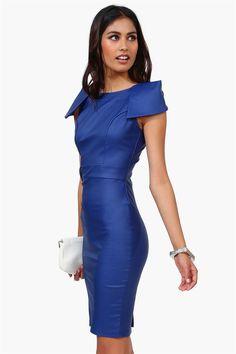 Milenium Dress in Royal Blue