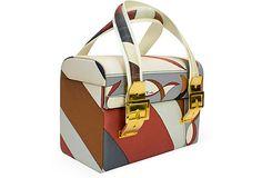 1970s Pucci Printed Box Bag