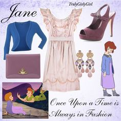 Disney Style: Jane, created by trulygirlygirl on Polyvore