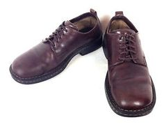 Born Shoes Leather Brown Comfort Lace Up Casual Durable Oxfords Mens 11 M BR | eBay
