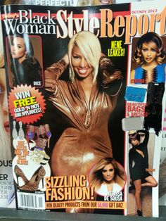"""Why is there a """"Black Woman"""" magazine and it's okay but if there was a """"White Women"""" magazine it's considered racist? Hmmmm"""