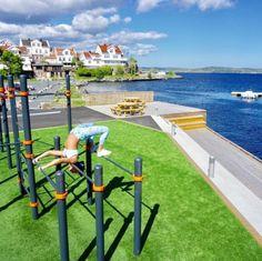 Outdoor Gym, Wind Turbine