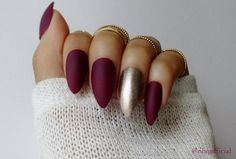 Matte Stiletto Nails Stiletto Nails Press On by nhqofficial