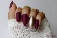Matte Stiletto Nails Stiletto Nails Press On by nhqofficial