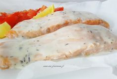 Papillote de saumon sauce hollandaise - Reality Worlds Tactical Gear Dark Art Relationship Goals Easy Snacks, Healthy Snacks, Healthy Recipes, Evening Meals, Light Recipes, Entrees, Food And Drink, Yummy Food, Dinner