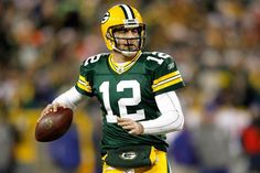 Green Bay Packers QB Aaron Rodgers  His career passer rating of 98.4 ranks- No. 1 in NFL history