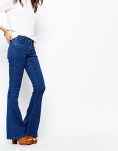 Only+Royal+Skinny+Flared+Jeans
