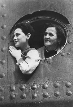 Jewish women refugees aboard the M.S. St. Louis (May 1939). #refugees #cdnhistory