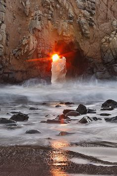 Pfeiffer Beach, Big Sur, California  Big Sur: one of my favorite places on the planet....Kay