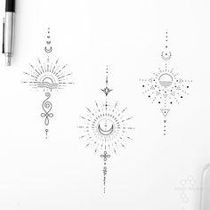 Bike Tattoos, Body Art Tattoos, Hand Tattoos, Sleeve Tattoos, Hand And Finger Tattoos, Hand Poked Tattoo, Classy Tattoos, Dainty Tattoos, Circle Tattoos