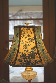 Lampshade French Lamp Shade Floral Vintage Shade by lampshadelady