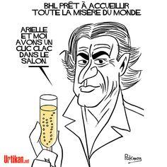 L'avis de Bernard-Henri Lévy - Dessin du jour - Urtikan.net