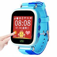 Freies verschiffen Tracker Kinder Smartwatch Armbanduhr Telefon anti-verlorene SOS Kinder Steuer Smartphone //Price: $US $12.27 & FREE Shipping //     #clknetwork
