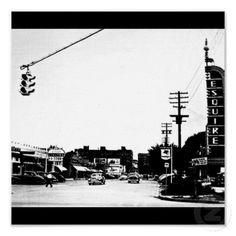 Poster-Vintage Dallas Photography-17 (Lemmon at Oak Lawn)