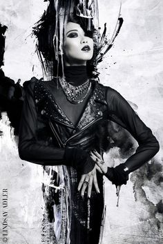 Painted Lady Fashion Editorial in Zink Magazine by Lindsay Adler  Free Pinterest E-book (Get loads of followers)  http://pinterestperfection.gr8.com
