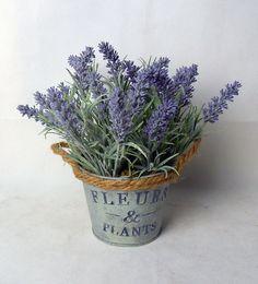 new item for lavendar in iron pot