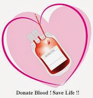 Millions of people need blood transfusions each year. Some may need blood during surgery. Others depend on it after an accident or because they have a disease that requires blood components. Blood donation makes all of this possible. This post is an effort to spread awareness about Blood Donation.  Note: The post is written in Hindi language. You can read it in English by using the Translate option available on right side of the post.