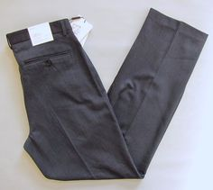 Calvin Klein Men's Dylan Straight Fit Dress Pants 32 32 Blue Nights Pickstitch #CalvinKlein #DressFlatFront