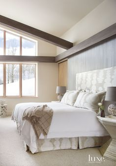 6 Rooms Where Headboard Design Rules   LuxeDaily - Design Insight from the Editors of Luxe Interiors + Design