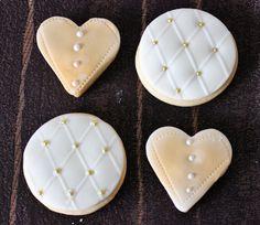 Wedding Cookies by Violeta Glace