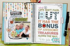 smashbook pages by Leeann Pearce