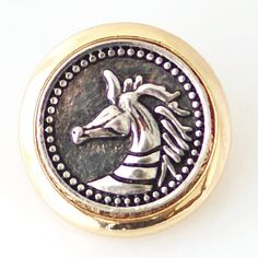 Silver Horse with a Gold Band