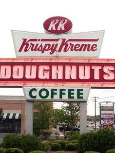 Krispy Kreme since 1937. Original Location: Winston-Salem, N.C.