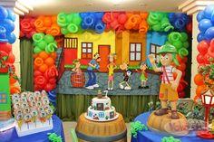 Resultado de imagem para festa infantil turma do chaves provençal
