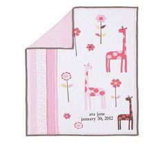 Ava Mod Giraffe Nursery Bedding | Pottery Barn Kids