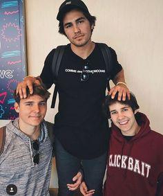Alex, Toddy, and David