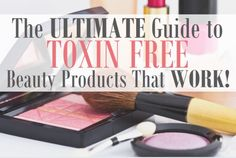 One of my co-workers went trial crazy to write this guide to all natural beauty products that actually work. I LOVE IT!
